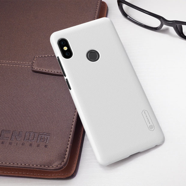 For Xiaomi Redmi Note 5 Case Nillkin Frosted PC Hard Back Cover Case For Redmi Note 5 Pro Global Version 5.99 Inch With Gift