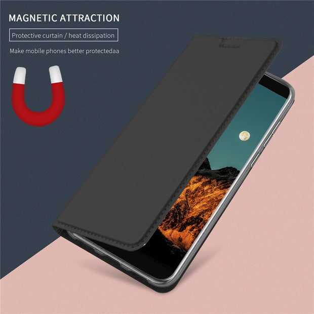 For Xiaomi Redmi Note 5 Pro Case Flip Cases For Xiaomi Redmi Note 5 Pro Magnetic Case Stand Cover Wallet Case 5.99''