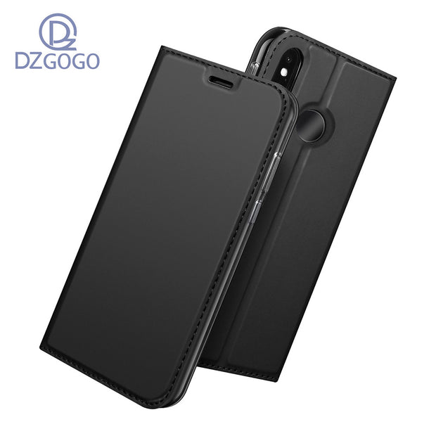 For Xiaomi Redmi Note 6 Case Magnetic Phone Case For Xiaomi Redmi Note 6 Cover Flip Leather Stand Case For Redmi Note 6
