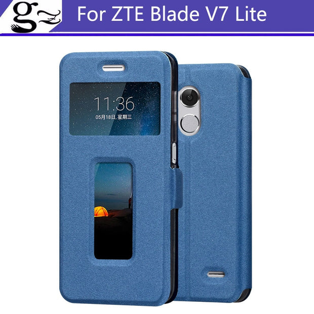 For ZTE Blade V7 Lite Case 5.0 Inch Flip PU Leather Cover Fundas For ZTE Blade V7 Lite A2 With Stand Function Holder Phone Bags