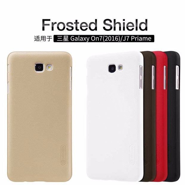 For Galaxy J7 Prime Case NILLKIN Super Frosted Shield Hard Back Cover Case For Samsung Galaxy J7 Prime 2016 + Screen Protector