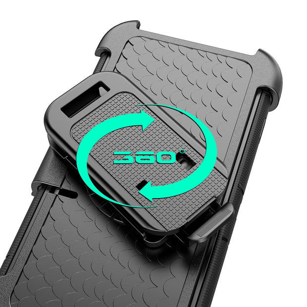For IPhone 7 Case 360 Rotation Belt Clip Stand Cover For IPhone 7 Plus 6 6s Case Full Protective Silicon Ring Holder 6 Plus Case