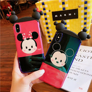 For IPhone 8PLUS Cute 3D Minnie Mickey Ryan Phone Cases For Iphone X 7 7plus 8 6 6S 6Splus Tata / Apeach / Soft Back Case Cover