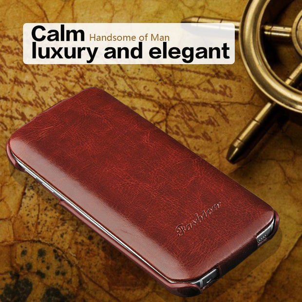 For Samsung Galaxy S8 / S8 Plus / S6/ S7edge Flip Case Vertical Leather Cases For Samsung Galaxy S9 /S7 Edge/note 8 Cover Fundas