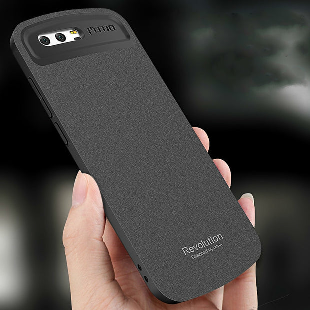 Full Protection For Huawei Honor 9 Case Soft Frame+Hard PC Candy Case Frosted Back Cover For Huawei Honor 9 Capa Funda Silicone