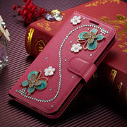 Fundas SFor Huawei Mate 10 Pro Case Muxma Glitter Rhinestone Cover Pink Faux Leather Coque Luxury Crystal Diamond Phone Cases