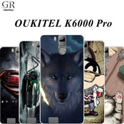 GR Olamexy Draw Pattern TPU Cover Phone Case For OUKITEL K6000 Pro Mobile DIY Personal Customize Case Free Shipping Caqa Coque
