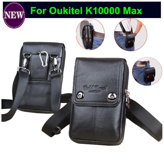 cb12ab5fe1912 Genuine Leather Travel Men s Waist Bags Fanny Pack Wallet Pouch Phone