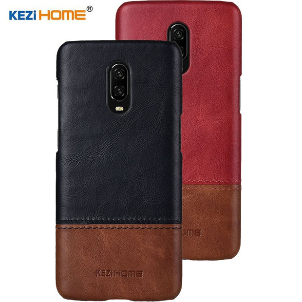 newest 1bd12 adb74 Genuine Oneplus 6T Case Cover One Plus 6T Case Pc Hard Back Cover Color  Thin Red Black 1+6T Oneplus6T Case Coque Funda