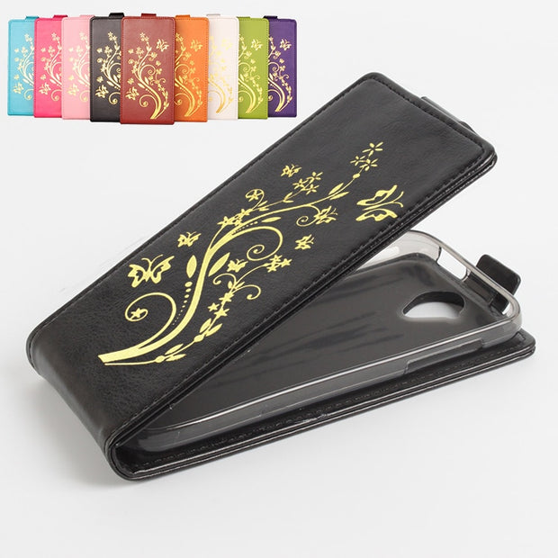 Gold Paillette 9 Color High Quality Leather Cases For Acer Liquid Z330 Case 4.5 Inch Flip Vertical For Acer Z330 Phone Cover