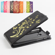 Gold Paillette High Quality Leather Case For Alcatel One Touch Pixi 3 5.0 Inch OT 5015 Case Cover OneTouch Pixi3 Phone Cases
