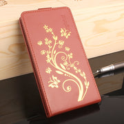 Gold Paillette High Quality Leather Case For MEIZU M5 Note / M5 Mini Case Meilan 5 Cover Phone Housing Flip Cellphone Cover