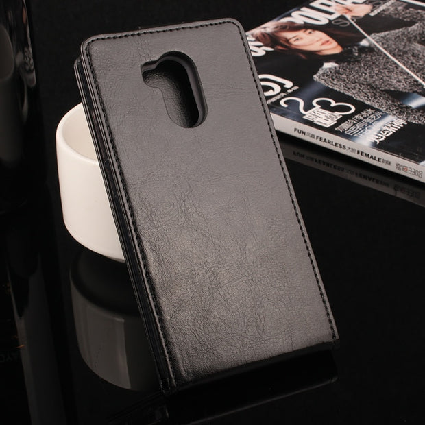Gold Paillette High Quality Leather Case For XiaoMi Redmi 4 Pro Case Redmi4 Note 4 / 4X Cover Phone Housing Flip Cellphone Cover