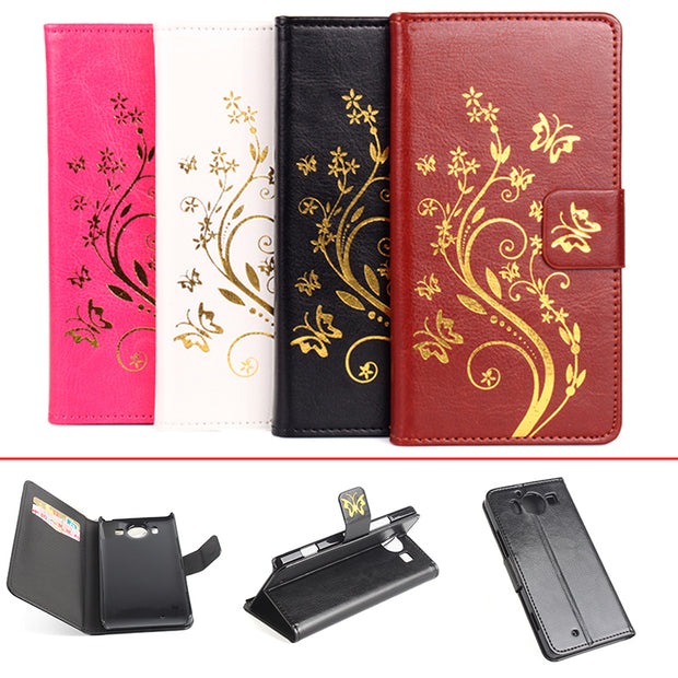 Gold Paillette Sequin Leather Case For Microsoft Lumia 950 Flip Cover For Nokia Lumia950 Wallet Phone Cellphone Cases