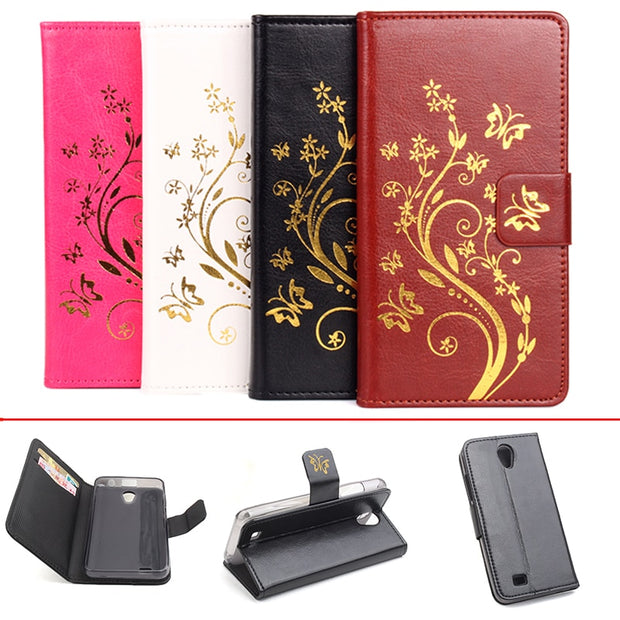 Gold Paillette Sequin Silicone Leather Case For Lenovo A3800 Flip CoverLenovo A3800 Wallet Covers Phone Cellphone Cases