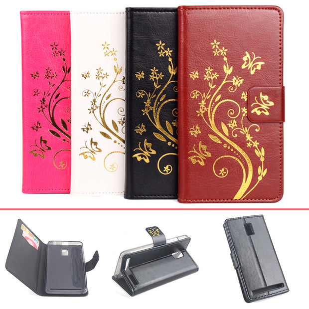 Gold Paillette Sequin Silicone Leather Case For Lenovo A3860 Flip Cover Lenovo A3860 Wallet Covers Phone Cellphone Cases