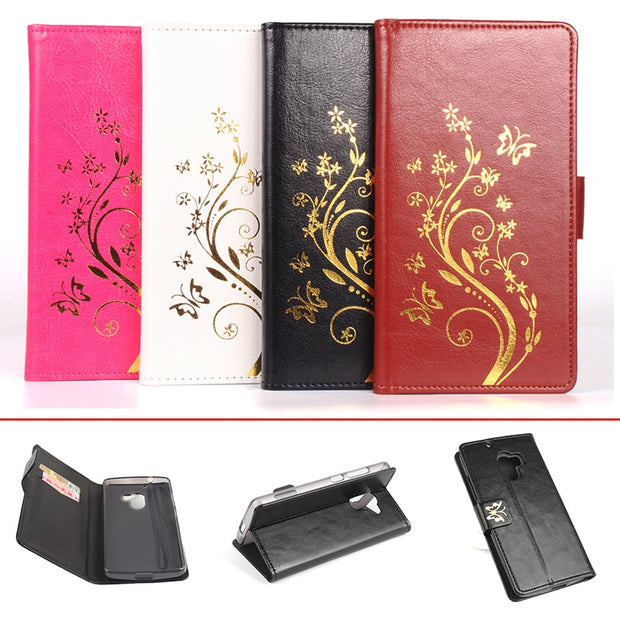 Gold Paillette Sequin Silicone Leather Case For Lenovo X3 Lite Flip Cover Lenovo X3 Lite Wallet Covers Phone Cellphone Cases
