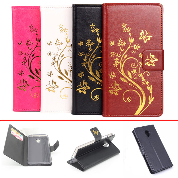 Gold Paillette Sequin Silicone Leather Case For MeiZu M3 Mini Flip Cover For MeiZu M3 Note Wallet Covers Phone Cellphone Cases
