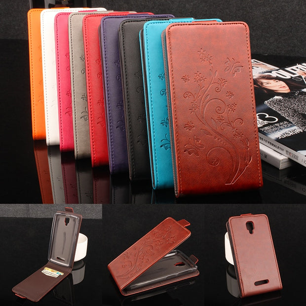 Grand Butterfly Coque PTU Silicone Leather Case For Lenovo A1000 A2800 Flip Cover A1000 A2800 Wallet Phone Cellphone Cases