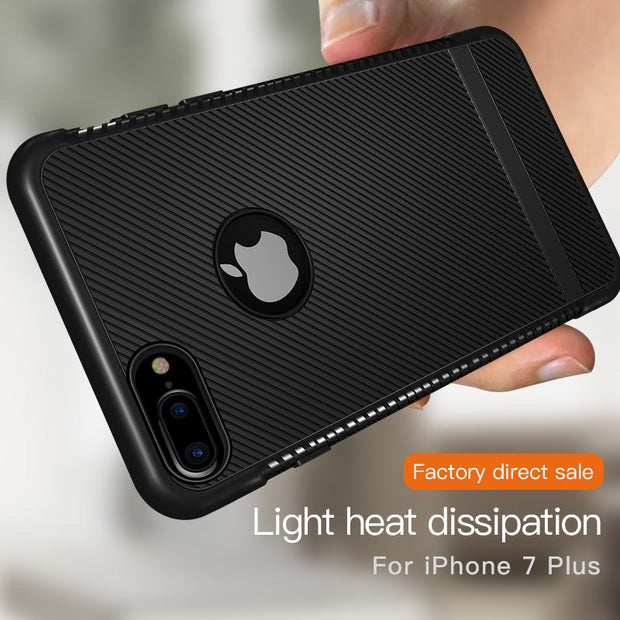 H-shirley For Iphone 8plus Case For Iphone 7 7plus Drop Stripe Soft Shell For Iphone 6 6plus Xs Max Back Cover Cases