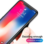 HAWEEL Laser Luster Glass Case For IPhone X / XS Fashion TPU Fitted Phone Case