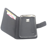 High Quality Leather Case For Samsung Galaxy S5 Mini G800 Flip Cover With Card Slot G800F Cellphone Cover Phone Cases