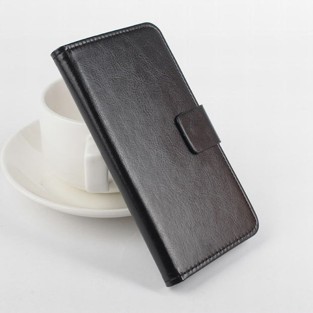 High Quality Leather Case For XiaoMi Redmi 3 Flip Cover Case With Card Slot For XiaoMi Redmi3 Leather Cover Case Phone Cases