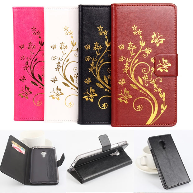 High Quality Leather Cellphone Case For Alcatel OneTouch Pixi 4 5.0'' 3G 4G Cover OneTouch Pixi 4 5010 5045 D Cover Phone Cases