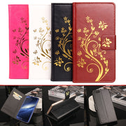 High Quality Leather Cellphone Case For Elephone S7 / S7 Mini Flip Cover Case With Card Slot Elephone S7 Mini Cover Phone Cases