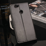 High Quality Leather Cellphone Case For HuaWei Nova Flip Cover With Card Slot For HuaWei Nova 5.0'' Silicone Cover Phone Cases