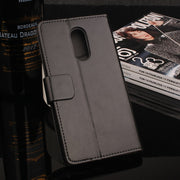High Quality Leather Cellphone Case For Lenovo K6 Note Flip Cover Case With Card Slot For Lenovo K6 Note Cover Phone Cases