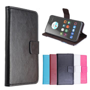 High Quality Leather Cellphone Case For ZTE Blade A510 / A520 Flip Cover Case With Card Slot For ZTE A510 A520 Cover Phone Cases