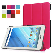 "High Quality Magnetic Fashion Stand Flip PU Leather Cover For Acer Iconia One 8 B1-850 8"" Tablet Case+Film+Stylus Pen"
