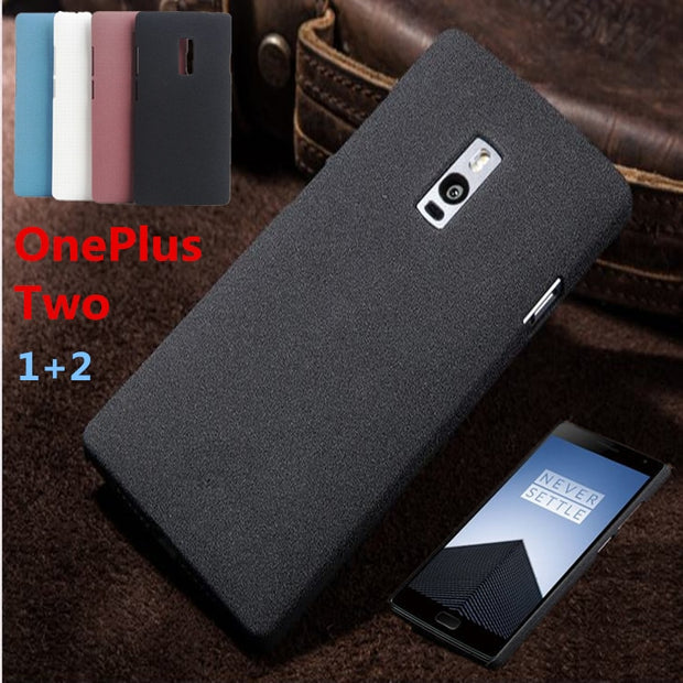 High Quality Scrub Case For 1+ OnePlus Two Case Matter Texture Not Slippery Case With For One Plus 2 / 1+2 Cover Phone Cases