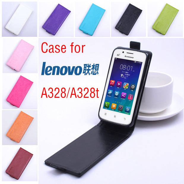 High Quality Luxury Leather Case For Lenovo A328 A328t Lenovos A 328 A 328t Phone Housing Flip Cover Cases With Cellphone Cases