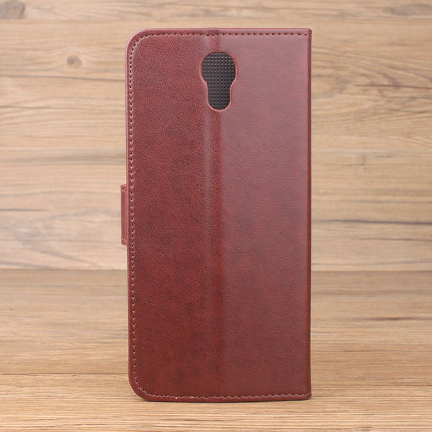 HongBaiwei Luxury Flip Case For Oukitel K6000 Plus Leather Case Wallet Back Cover For Oukitel K 6000 Plus 5.5 Inch Phone Coque