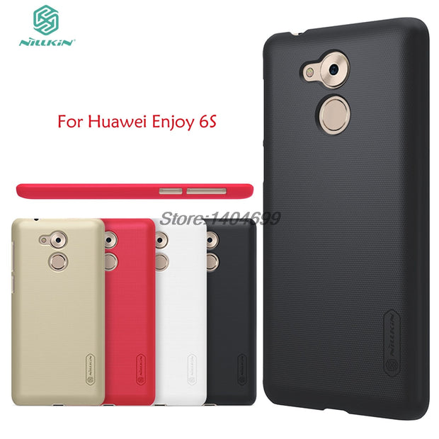 Huawei Enjoy 6S Case Nillkin Frosted Shield Hard Armor PC Back Cover Case For Huawei Enjoy 6S