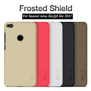 Huawei P8 Lite 2017 Case P9 Lite 2017 Cover Nillkin Frosted Shield Back Cover Case For Huawei Honor 8 Lite / RG3 2017