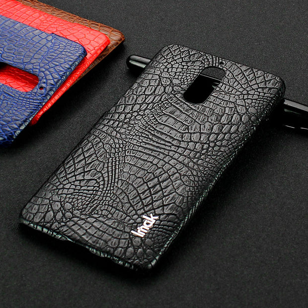 IMAK Ruiyi Series Crocodile Leather Coated PC Phone Case For Huawei Mate9 Pro