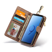 JDBLE Multifunction Wallet Leather Cases For Samsung Galaxy S8 S8Plus S9 S9Plus Keychain Zipper Card Slot Cash Slot Wallet Cases