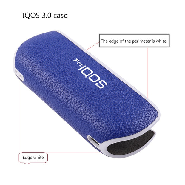 JINSERTA Portable Leather Case For IQOS 3 0 Storage Anti