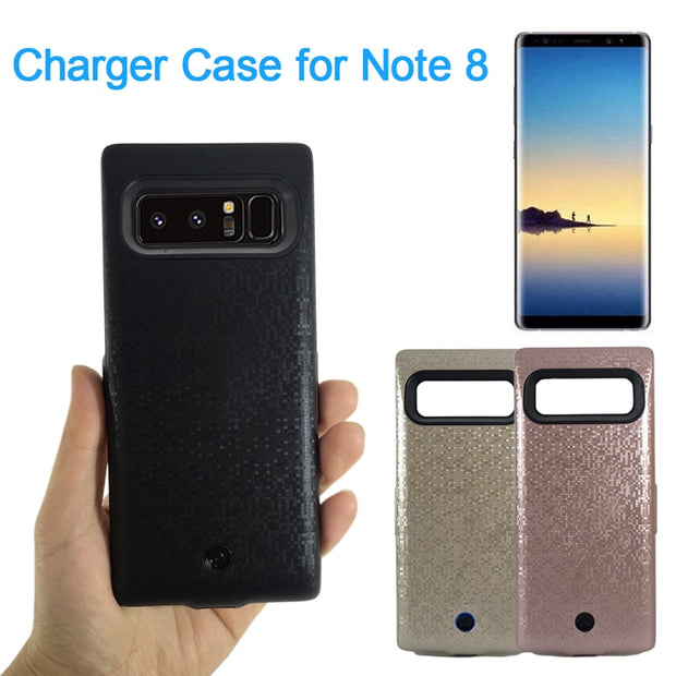 best service 157ff bb1a1 Jinsuli 7000mah For Samsung Galaxy Note 8 Battery Case Rechargeable Power  Bank Backup External Battery Charger Case Cover