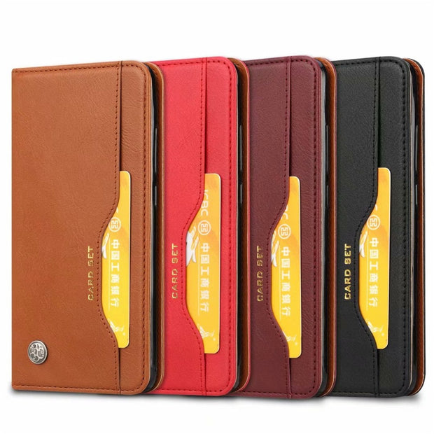 KDTONG Case SFor Cover Xiaomi Redmi Note 6 Case Luxury Flip Leather Wallet Card Cover For Xiaomi Redmi Note 6 Note6 Case Cover
