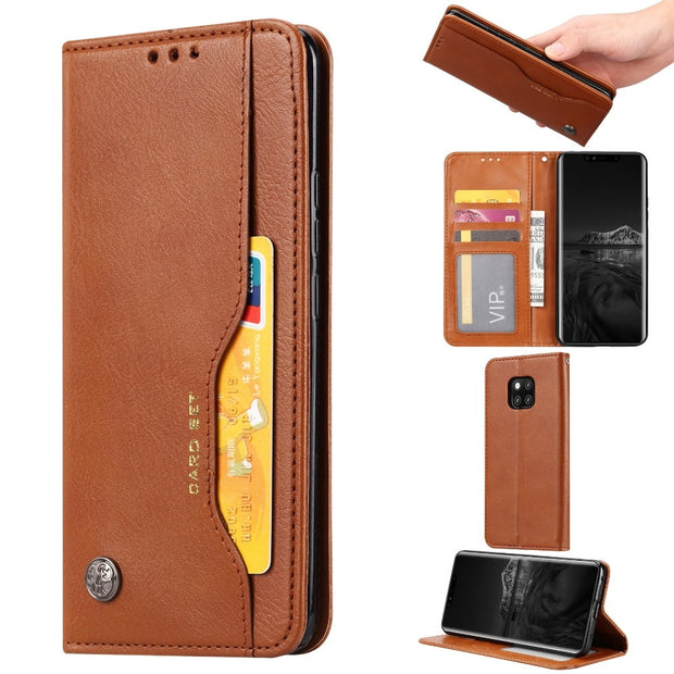 KDTONG Phone Case SFor Cover Huawei Mate 20 Pro Lite Case Luxury Flip Leather Wallet Cover For Huawei Mate 20 Lite Case Cover