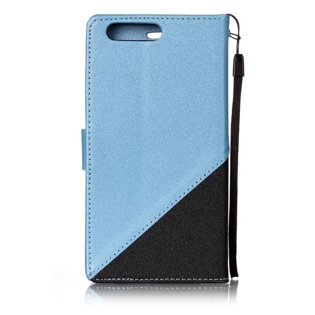 Karribeca Flip PU Leather Cases For Huawei P10 Case Dual Color Wallet Cover Bag Huawei P10 Lite Case Coque Etui Pouzdra Tok Husa