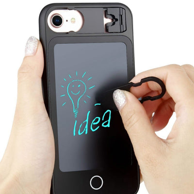 LCD Handwriting Board Writing Tablet Phone Case For IPhone 6 6S Plus IPhone 7 IPhone 8 IPhone X