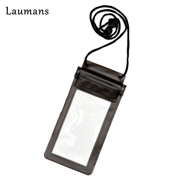 Laumans 5pcs Waterproof Phone Bag Case For IPhone 6plus Travel Swimming Pouch Adjustable Lanyard Bag For Phone Under 5.5 Inch