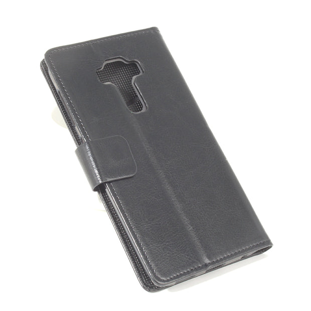 Leather Case For ASUS Zenfone Selfie ZD552KL Flip Cover Case With Card Slot Housing For Zenfone GO ZD552KL Phone Cases