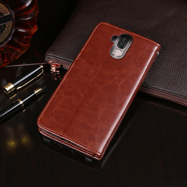 "Leather Wallet Phone Bag Cases For Ulefone Power 3 Case 6.0"" Phone Back Cover For Ulefone Power 3s Flip Fundas Phone Bags Case"
