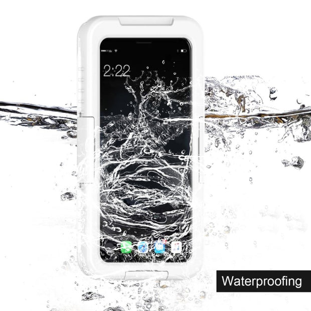 Lightweight Waterproof Smartphone Case Shockproof Soft Silicone Full Protective Case Cover Suitable For IPhone/for Samsung